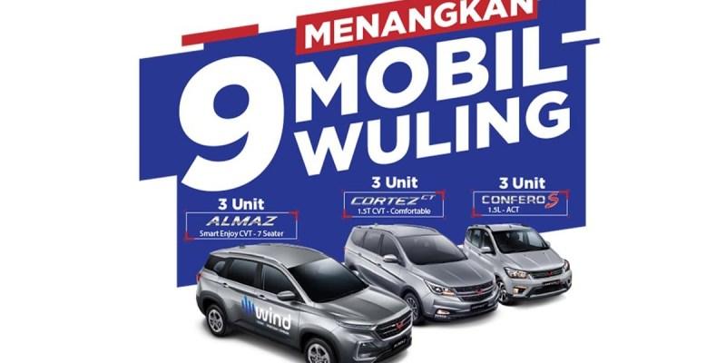 Program 'Drive & Win', Test Drive Berhadiah Mobil Wuling
