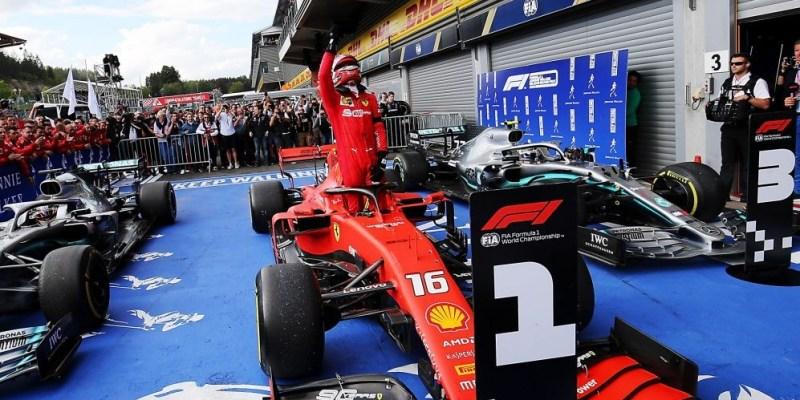 F1 Belgia 2019: Charles Leclerc Akhirnya Menang!
