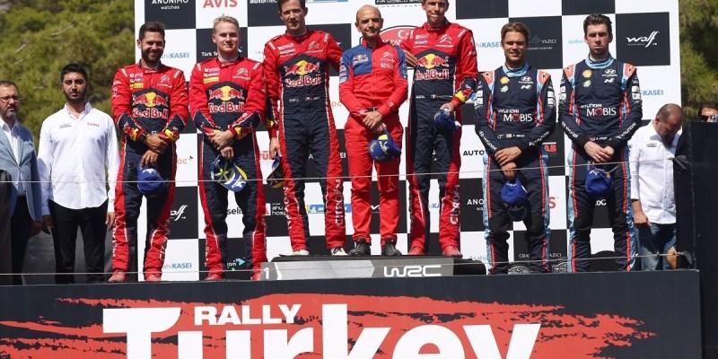 WRC Turki 2019: Citroen Bangkit, Ogier Incar Posisi Ott Tanak