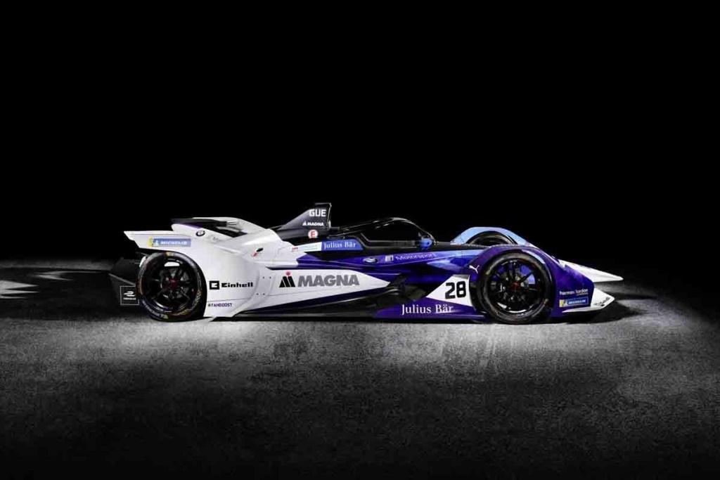 BMW Perkenalkan Mobil Balap Formula E Terbarunya
