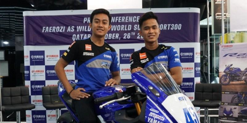 Dua Rider Yamaha Indonesia Siap Tarung di Final WorldSSP 300