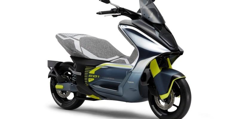 Inikah Yamaha Nmax versi Elektrik?