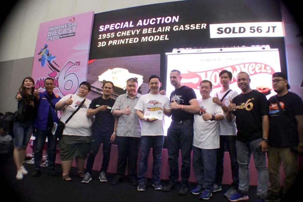 Lelang Diecast 55 Chevy Bel Air Gasser 3D Printed Laku Rp 56 Juta