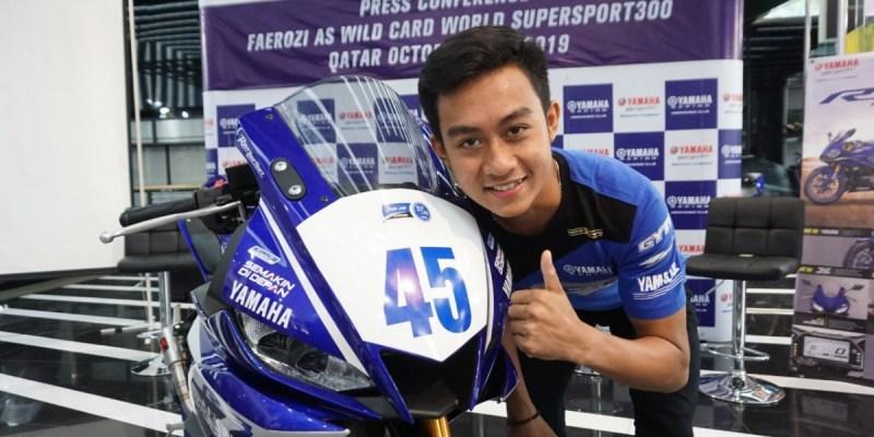 Faeroz Siap Debut Kejuaraan Dunia di World Supersport 300 Seri Qatar