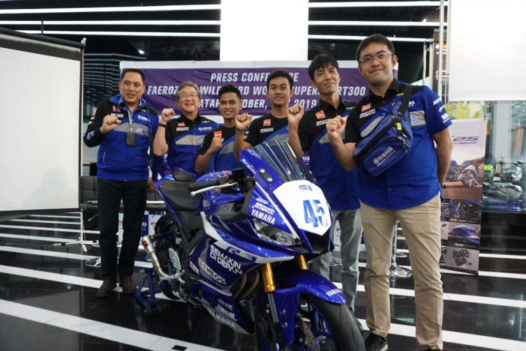 Faeroz Siap Debut Kejuaraan Dunia di World Supersport 300 Seri Qatar