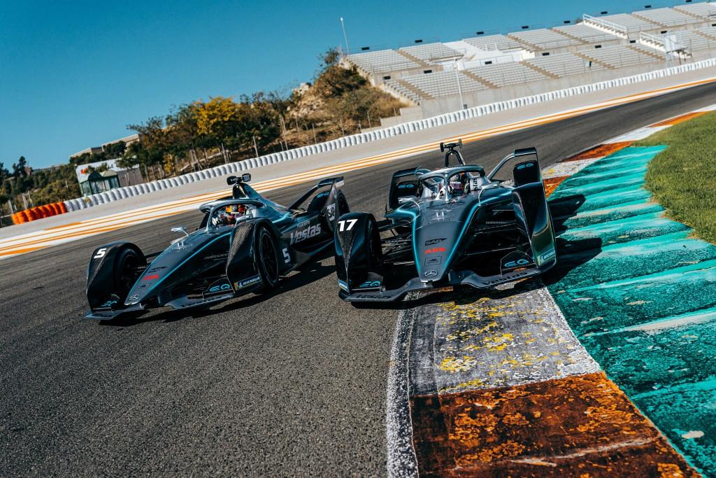 Mercedes-Benz EQ Silver Arrow 01, Kejar Potensi di Valencia