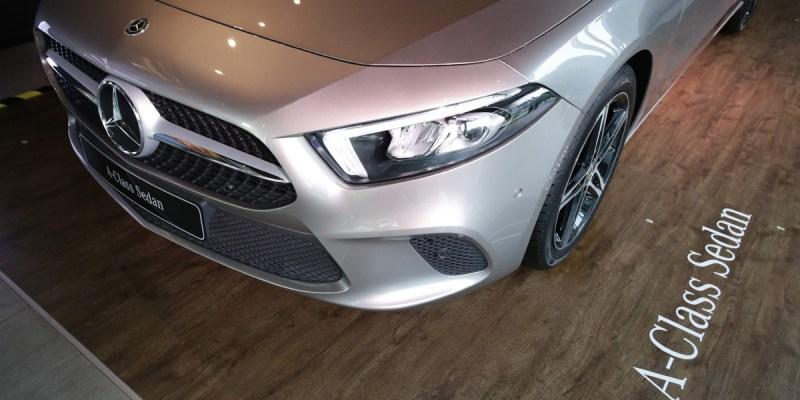 Ini Detail Mercedes-Benz A 200 Progressive Line