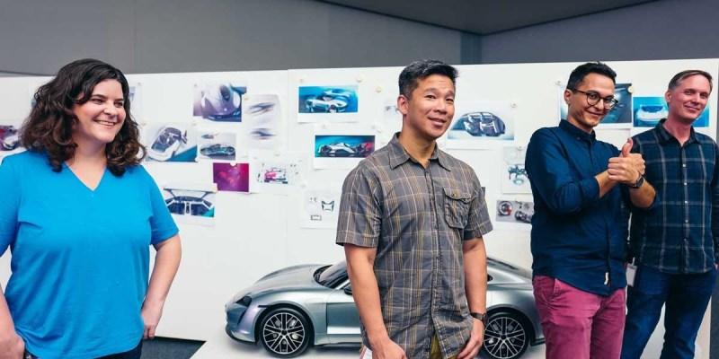 Porsche dan Lucasfilm Rancang Pesawat Luar Angkasa