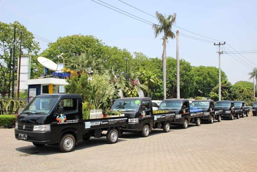 Suzuki New Carry Ramaikan Kota Cirebon, Ada Apa?