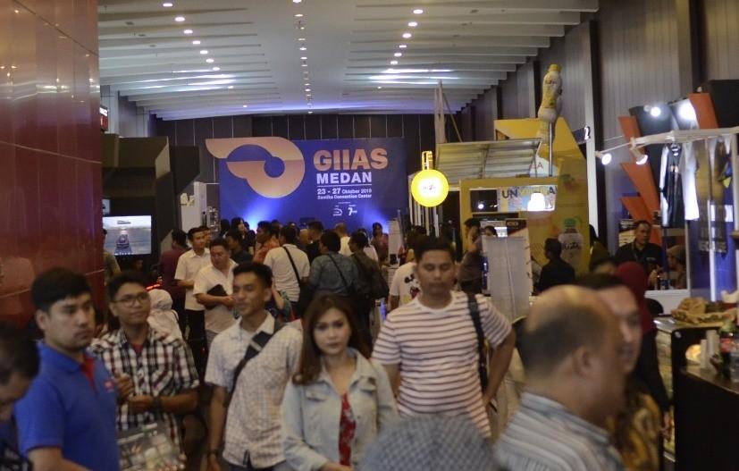GIIAS 2019 Medan Torehkan Angka 20.000 Pengunjung
