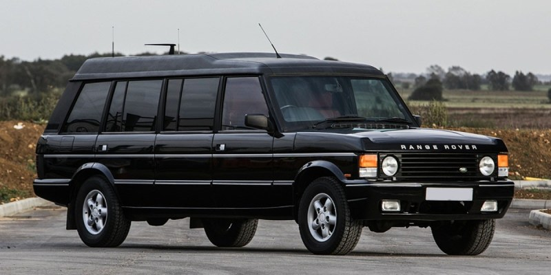Range Rover Limousine, Kemewahan SUV ala Sultan Brunei