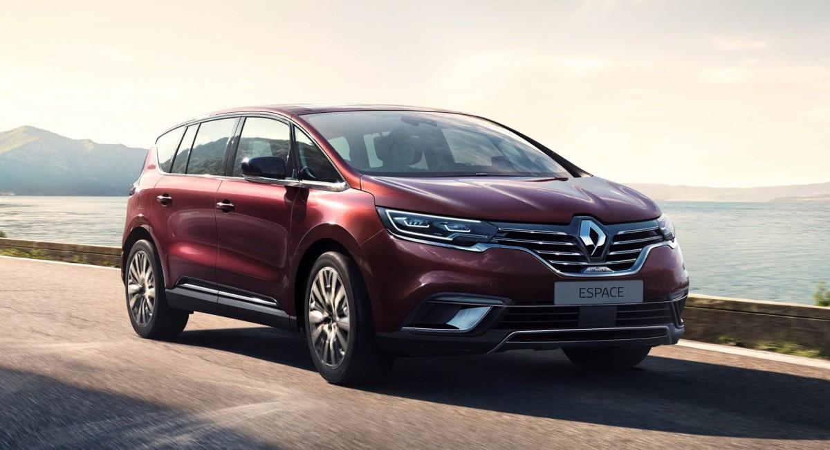 Renault Espace Generasi Baru Siap Diproduksi 2020