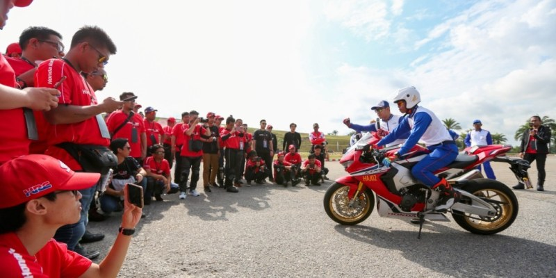 Honda Asian Journey 2019, Bikers Indonesia Jajal CBR Series di Malaysia