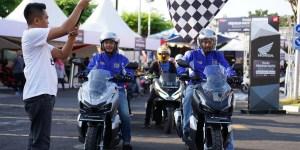 Penggemar Honda ADV150 Gelar Urban Exploride di Kota Cirebon