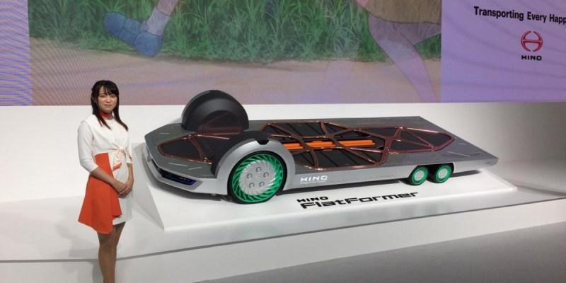 Hino Flat Former, Kendaraan Konsep Pendukung Mobilitas