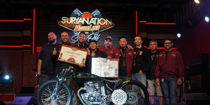 Suzuki Thunder 250  Jadi The Greatest Bike Suryanation Motorland 2019