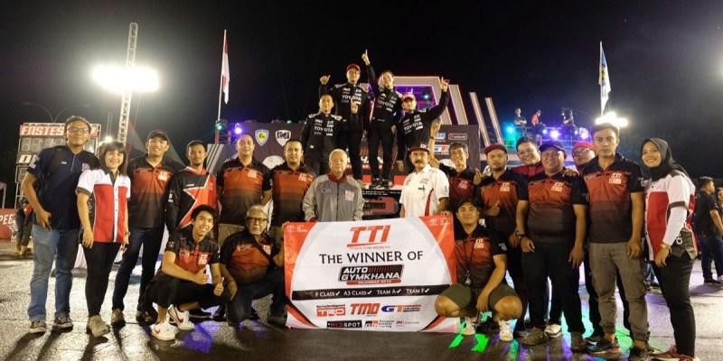 TTI Juara Nasional MLD SPOT Auto Gymkhana 2019