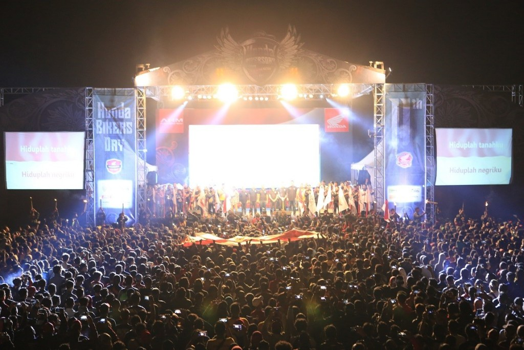 34. 000 Bikers Tumpah Ruah di Honda Bikers Day 2019