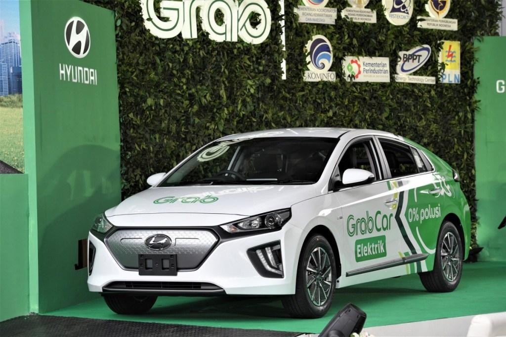 Hyundai Ioniq Electric Akan Jadi Grabcar di Jakarta Tahun Depan