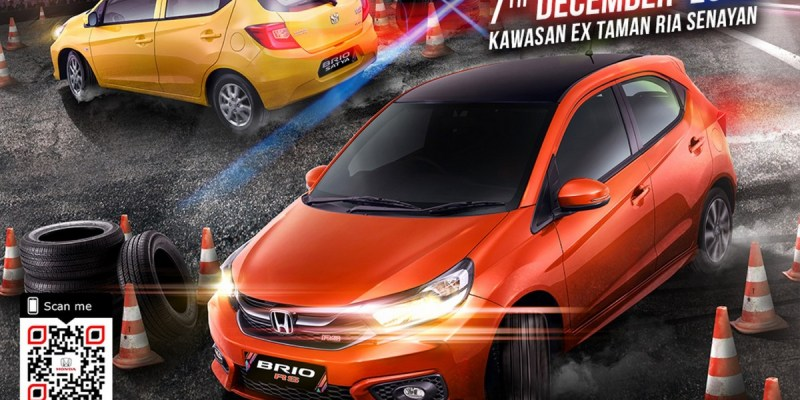 Brio Saturday Night Challenge 2019 Dihelat di Ex-Taman Ria Senayan