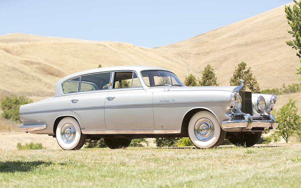 Klasik & Langka: Rolls-Royce Silver Wraith Saloon by Vignale 1954