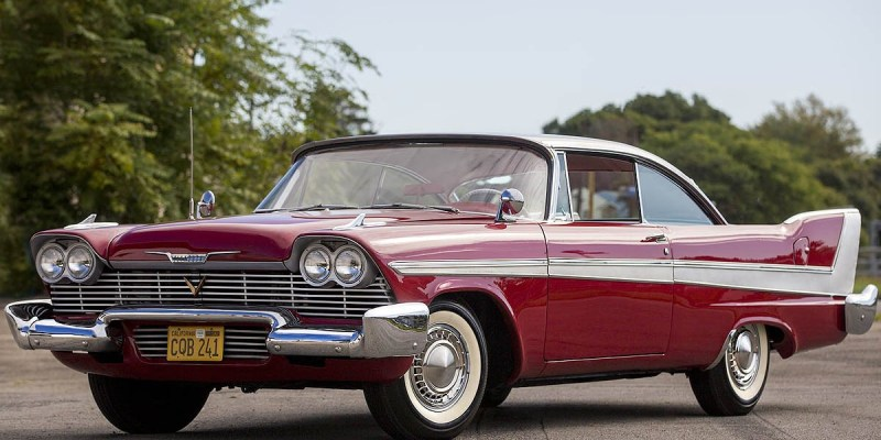 Plymouth Fury 'Christine' Segera Dilelang