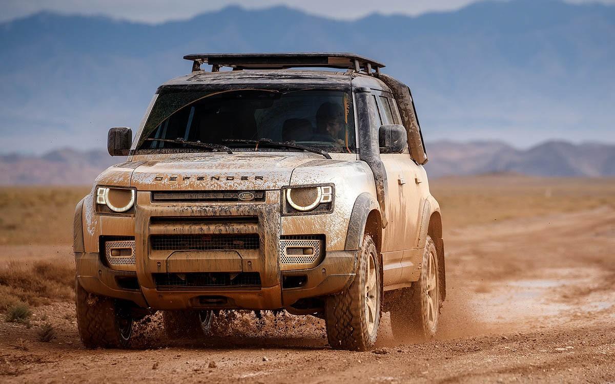 Land Rover Defender Usung Modem Dual-LTE di CES 2020
