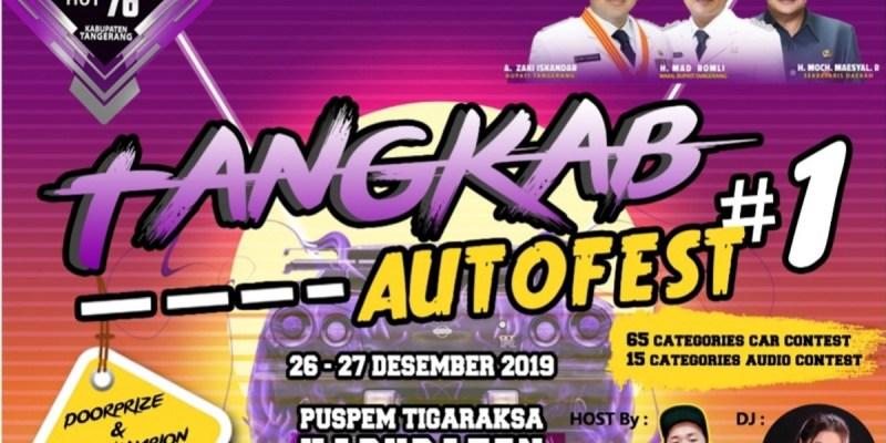 Kontes Modifikasi di HUT ke-76 Kabupaten Tangerang