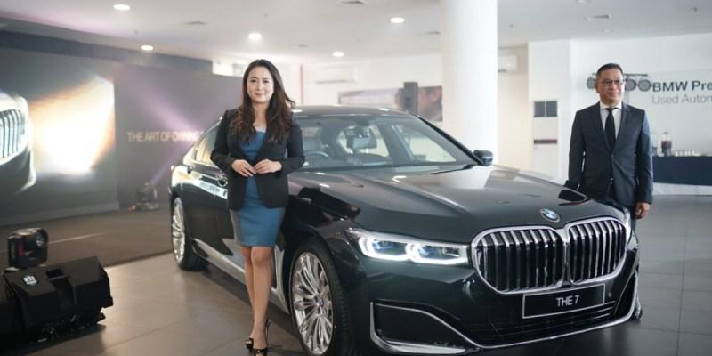 BMW Seri 7 Terbaru Hadir Pertama Kali di Medan