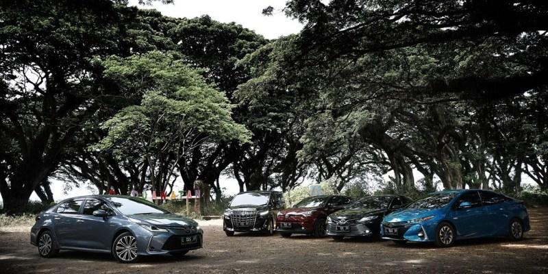 Toyota Catatkan Penjualan Diatas Industri Pasar Nasional