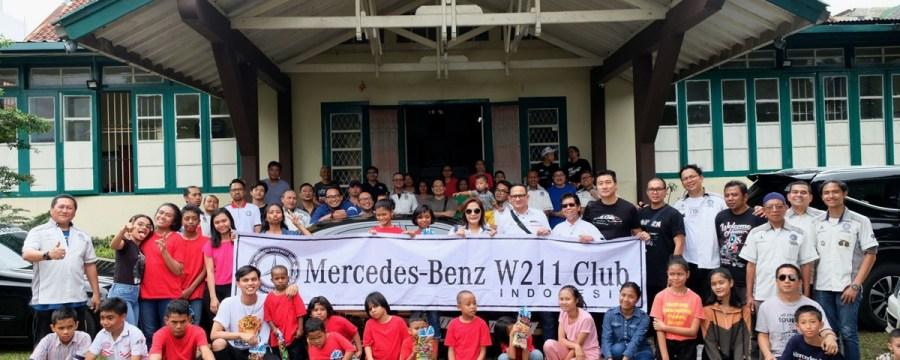 Baksos Natal MB W211 CI di Bogor