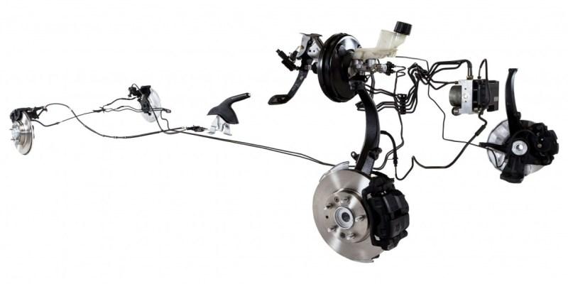 Kaliper Rem : Menjepit Rotor