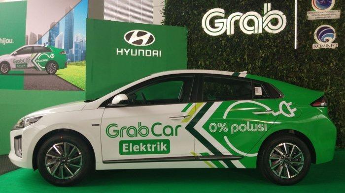 Kolaborasi Grab-Hyundai Luncurkan Grabcar Electric