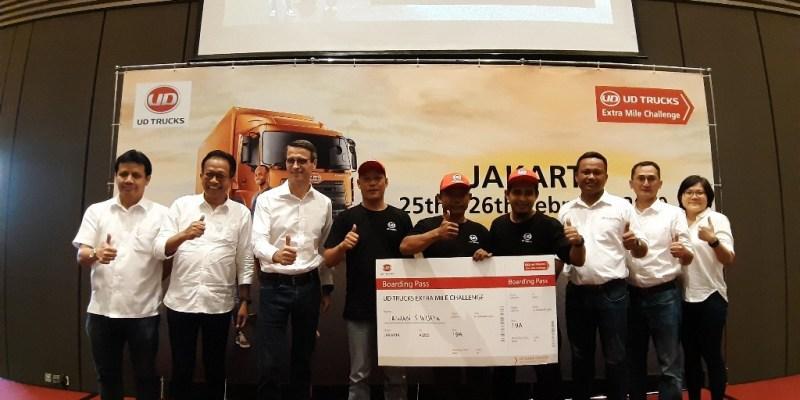 Extra Mile Challenge, Lahirkan Pengemudi UD Truck Handal