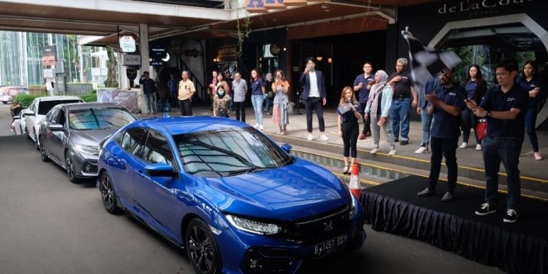 Mencoba Sensasi Berkendara New Honda Civic Hatchback RS