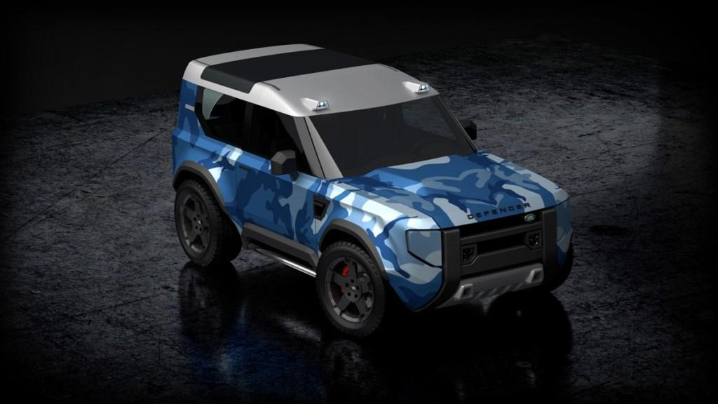 """Land Rover Defender """"Mungil"""" Mulai Tebar Pesona"""