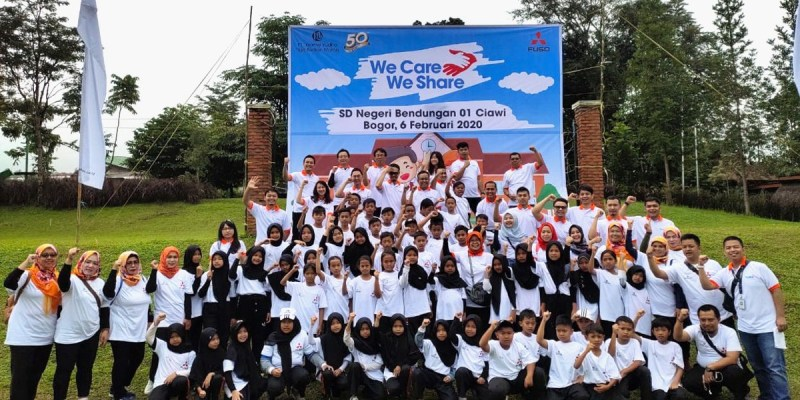 'We Care, We Share', Program CSR KTB Fuso Diawal 2020