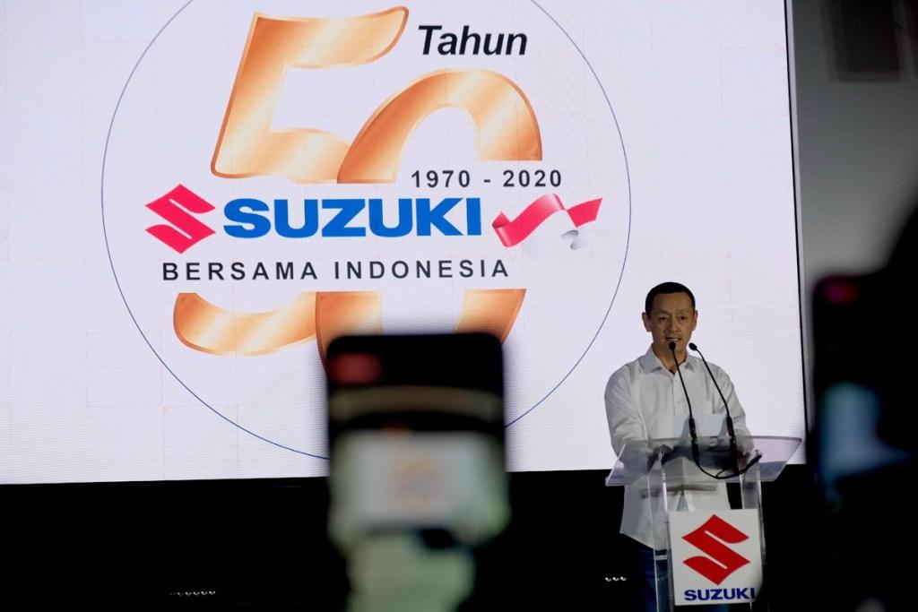 50 Tahun Suzuki di Indonesia, Ingin Selalu Berikan Kontribusi Terbaik