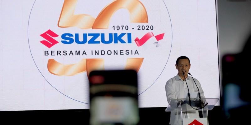 50 Tahun Eksis di Indonesia, Suzuki Siapkan Banyak Kejutan