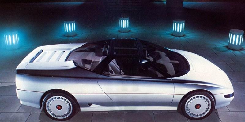 Konsep Retro Unik: MG EX-E 1985