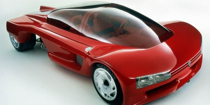 Konsep Retro Unik: Peugeot Proxima 1986