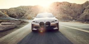 BMW Concept i4, Sedan Konsep Elektrik BMW Yang Siap Membidik Tesla