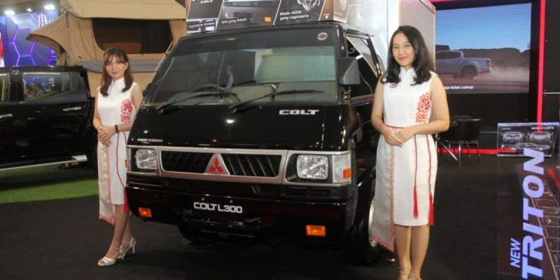 Mitsubishi L300 dan New Triton Tetap Menjadi Andalan Mitsubishi Di GIICOMVEC 2020