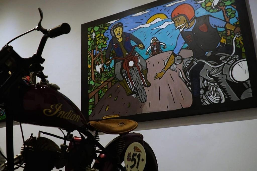 Berbagai Karya Mastom di 'Riding With The Wind' Bali