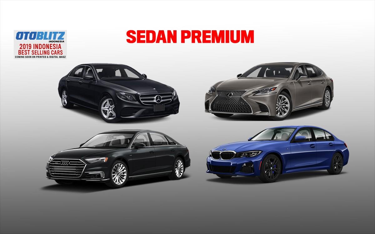 BMW 'Libas' Mercedes-Benz di Segmen Sedan Premium 2019