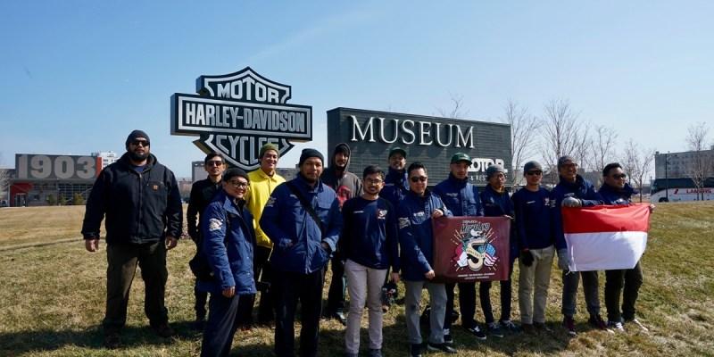 Tim Suryanation Motorland Kembali ke Indonesia dengan Banyak Inspirasi