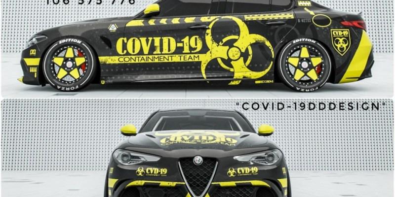 Terinspirasi Virus Corona, Gamer ini Ciptakan Livery COVID-19