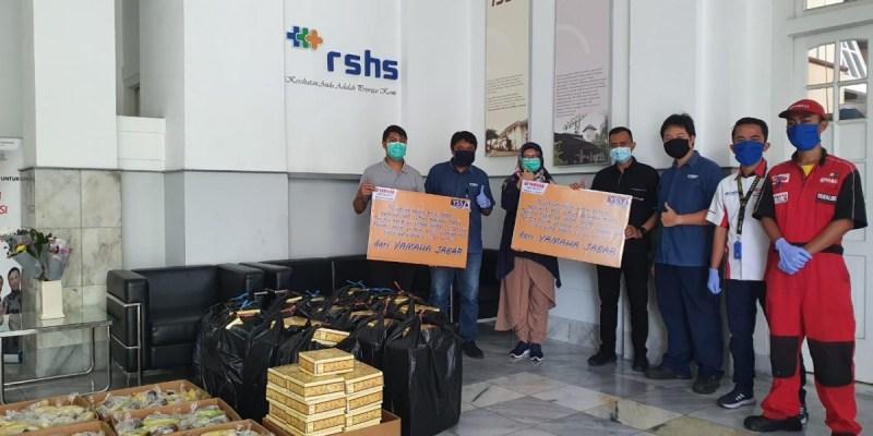 Yamaha DDS II Jabar Gelar Aksi Sosial untuk Garda Terdepan Covid-19