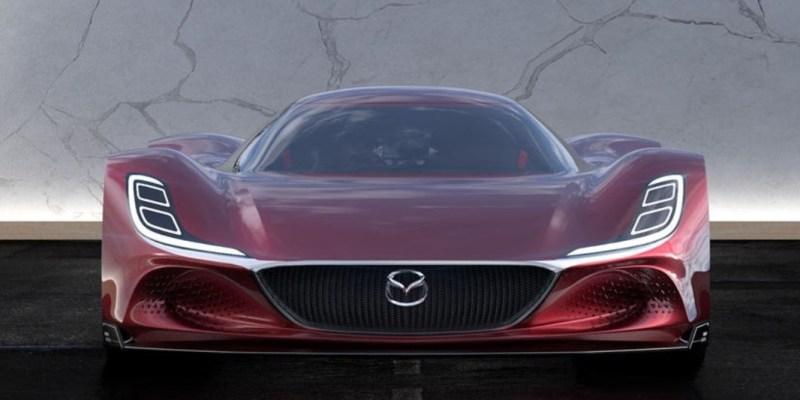 Hypercar Bertenaga Hidrogen, Inilah Mazda RX-10 Vision Longtail Berkekuatan 1.030 Hp