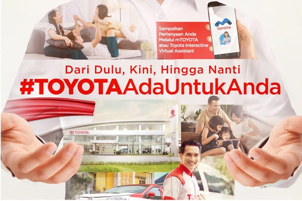 #ToyotaAdaUntukAnda, Hadirkan Kemudahan Bagi Pelanggan
